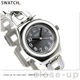 スウォッチ アイロニーレイディレイディ レディース スイス製 腕時計 シルバー×ホワイト Swatch YSS254G【あす楽対応】