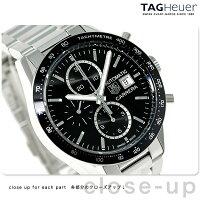 タグホイヤー カレラ クロノグラフ 41MM 自動巻き 腕時計 CV201AL.BA0723 TAG Heuer 新品【あす楽対応】