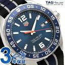 タグホイヤー フォーミュラ1 200M クオーツ メンズ WAZ1010.FC8197 TAG Heuer 腕時計 ブルー×ブラック 時計