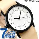 TID watches 時計 No.1 レザーベルト 36mm TID0136WH/N ティッド ウォッチズ