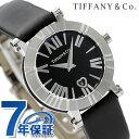 ティファニー アトラス 30mm レディース 腕時計 Z1300.11.11A10A41A TIFFANY&Co. クオーツ ブラック サテンレザー 新品