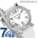 ティファニー アトラス 30mm レディース 腕時計 Z1300.11.11A20A71A TIFFANY&Co. クオーツ ホワイト アリゲーターレザー 新品