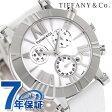 ティファニー アトラス クロノグラフ 36mm レディース 腕時計 Z1301.32.11A20A71A TIFFANY&Co. クオーツ ホワイト アリゲーターレザー 新品