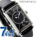 ティファニー ギャラリー 22mm レディース 腕時計 Z3001.10.10A10A68A TIFFANY&Co. クオーツ ブラック カーフレザー 新品