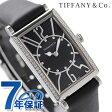 ティファニー ギャラリー 22mm ダイヤモンド レディース Z3001.10.10E10C68A TIFFANY&Co. 腕時計 クオーツ ブラック カーフレザー 新品