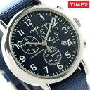 タイメックス ウィークエンダー 40mm クロノグラフ メンズ TW2P71300 腕時計 TIMEX ネイビー 時計