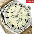 タイメックス ウォーターベリー メンズ 腕時計 TW2P83900 TIMEX クリーム×タン