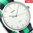 タイメックス ウィークエンダー フェアフィールド 41mm TW2P90800 TIMEX 腕時計 ホワイト×ネイビー