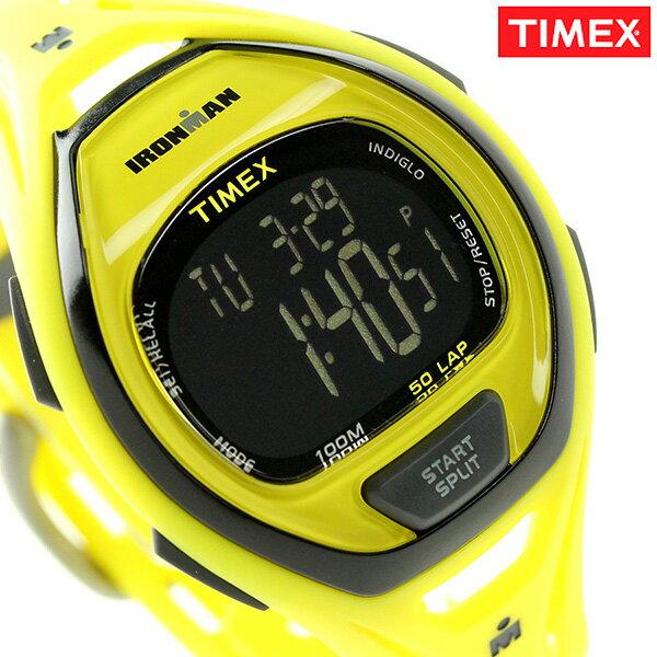 タイメックス アイアンマン スリーク 50ラップ メンズ TW5M01800 TIMEX 腕時計 イエロー タイメックス TIMEX[新品][1年保証][送料無料]