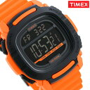 タイメックス 腕時計 ブースト デジタル メンズ TW5M26500 TIMEX ブラック×オレンジ
