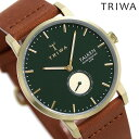 トリワ 腕時計 メンズ レディース 時計 TRIWA パイン ファルケン FAST112-CL010217 グリーン×ブラウン【あす楽対応】