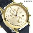 トリワ TRIWA ランセン クロノグラフ ゴールド 38mm 腕時計 LCST103-CL060713 ゴールド【あす楽対応】