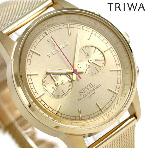 トリワ TRIWA ネビル ゴールド 40mm 腕時計 NEST104-ME021313 ゴールド【対応】 [新品][1年保証][送料無料]