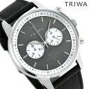 トリワ TRIWA 時計 メンズ レディース 腕時計 NEST118-SC010112 スレート ネヴィル グレーシルバー×ブラック【あす楽対応】