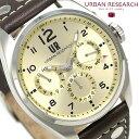 URBAN RESEARCH マルチファンクション メンズ 腕時計 UR002-03 アーバンリサーチ ゴールド 時計【あす楽対応】