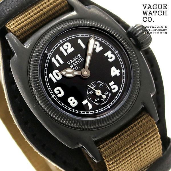 ヴァーグウォッチ クッサン アーリー 28mm レディース CO-S-007-09BK VAGUE WATCH Co. 腕時計 [新品][1年保証][送料無料]