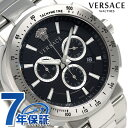 ヴェルサーチ ミスティック スポーツ クロノグラフ 腕時計 VFG170016 VERSACE ブラック 新品【あす楽対応】