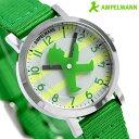腕時計 キッズ 子供用 アンペルマン クオーツ 腕時計 AFB-2040-12 AMPELMANN グリーン 時計