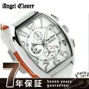 【10月末入荷予定 予約受付中♪】エンジェルクローバー ダブル プレイ クロノグラフ DP38SWH-WH Angel Clover 腕時計
