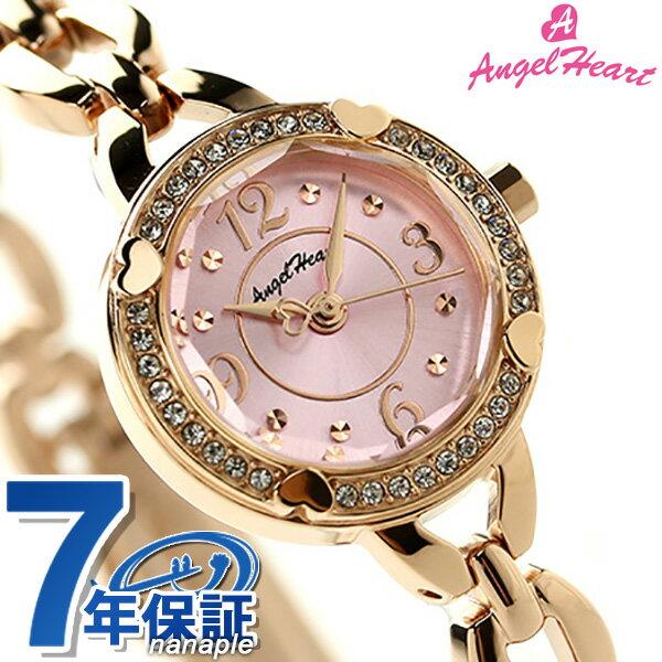 エンジェルハート フォーハート レディース 腕時計 FH22PP Angel Heart ピンク×ピンクゴールド [新品][7年保証][送料無料]