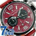 エンジェルクローバー レッドコレクションズ クロノグラフ NTC48SRE-RE Angel Clover メンズ 腕時計 タイムクラフト レッド