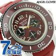 エンジェルクローバー シークルーズ クロノグラフ メンズ SC47SRE-RE Angel Clover 腕時計 レッド