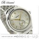 機械式腕時計 スモールセコンド 腕時計 手巻き シルバー×ゴールド B-Barrel BB0041-SSGPSV