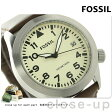 フォッシル エアロフライト クオーツ メンズ 腕時計 AM4514 FOSSIL ベージュ×ブラウン