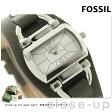 フォッシル クオーツ レディース 腕時計 BQ1116 FOSSIL シルバー×カーキ