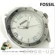 フォッシル クオーツ メンズ 腕時計 BQ1173 FOSSIL シルバー×ホワイト