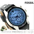 フォッシル コーチマン クロノグラフ メンズ 腕時計 CH2564 FOSSIL ブルー×ブラック【あす楽対応】
