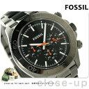フォッシル レトロ トラベラー クロノグラフ メンズ CH2864 FOSSIL 腕時計 ブラック×ガンメタル