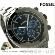 フォッシル レトロ トラベラー クロノグラフ CH2869 FOSSIL メンズ 腕時計 クオーツ ブラック×グレー【あす楽対応】