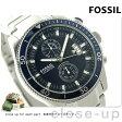 フォッシル ウェイクフィールド クロノグラフ CH2937 FOSSIL メンズ 腕時計 クオーツ ブルー×シルバー【あす楽対応】
