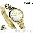 フォッシル ジャクリーン ミニ クオーツ レディース 腕時計 ES3798 FOSSIL シルバー×ゴールド【あす楽対応】