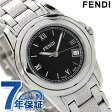 フェンディ ラウンド ループ レディース 腕時計 F225210 FENDI クオーツ ブラック 新品【あす楽対応】