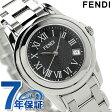 フェンディ ラウンド ループ レディース 腕時計 クオーツ F239210 FENDI ブラック 新品