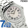 フェンディ ラウンド ループ レディース 腕時計 クオーツ F239270 FENDI ピンクシェル 新品