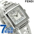 フェンディ クアドロ クオーツ レディース 腕時計 F605024000 FENDI ホワイトシェル