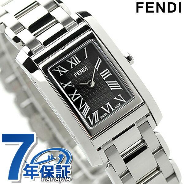 フェンディ ループ レディース 腕時計 クオーツ F779210 FENDI ブラック 新品 [新品][7年保証][送料無料]