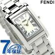 フェンディ ループ レディース 腕時計 クオーツ F779240 FENDI ホワイトシェル 新品