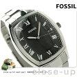 フォッシル アンセル クオーツ メンズ 腕時計 FS4741 FOSSIL ブラック