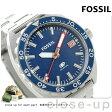 フォッシル ブレーカー クオーツ メンズ 腕時計 FS5048 FOSSIL ブルー【あす楽対応】