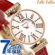 フォリフォリ ミニ ダイナスティ レディース 腕時計 WF13B014SSW-RE Folli Follie ホワイト×レッド