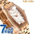 フォリフォリ デビュタント クオーツ レディース 腕時計 WF8B026BPZ Folli Follie ホワイト×ローズゴールド