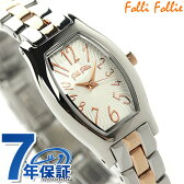 フォリフォリ デビュタント ウォッチ レディース 腕時計 WF8T026BPZ Folli Follie クオーツ シルバー×ピンクゴールド