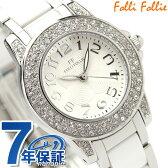 Folli Follie フォリフォリ 腕時計 レディース セラミック ジルコニア ホワイト WF9A020BPS