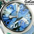 ガガミラノ 手巻き 5010.16S スイス製 マヌアーレ 48MM カモフラージュ シリコンラバーベルト 腕時計 GaGa MILANO MANUALE【あす楽対応】