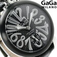 ガガミラノ 手巻き 48MM 5013.01S スイス製 マヌアーレ 腕時計 GaGa MILANO MANUALE スモールセコンド【あす楽対応】