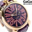 ガガミラノ クオーツ 46MM 5085.3 スリム 腕時計 GaGa MILANO SLIM スモールセコンド【あす楽対応】